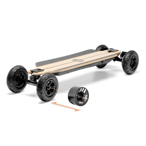 Buy Evolve Bamboo GTR 2 in 1 Electric Skateboard Canada Online Sales Vancouver Pickup