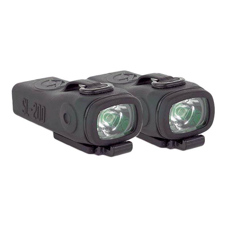 Shredlights Sl 200 One Pair Headlights Lumens Ip65 Water Resistant
