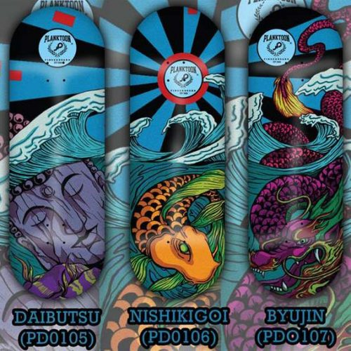 Buy Planktoon Harmony Of Myth Series Fingerboards Canada Online Sales Vancouver Pickup