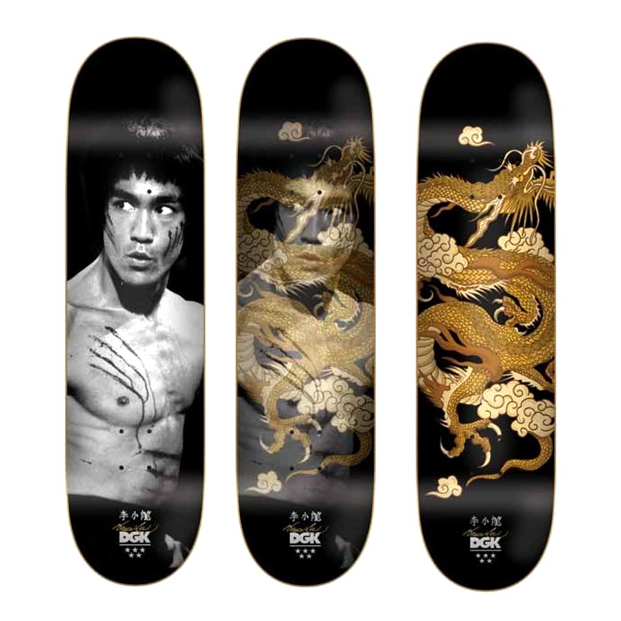 Buy DGK X Bruce Lee Golden Dragon Deck Canada Online Sales Vancouver Pickup