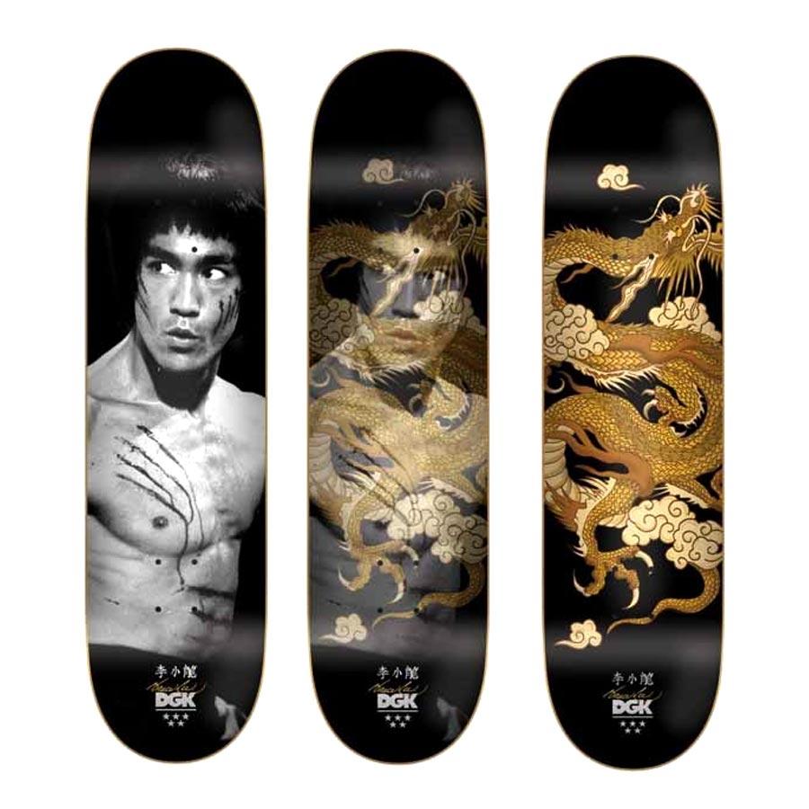 Buy DGK X Bruce Lee Golden Dragon Deck Canada Online Sales Vancouver Pickup