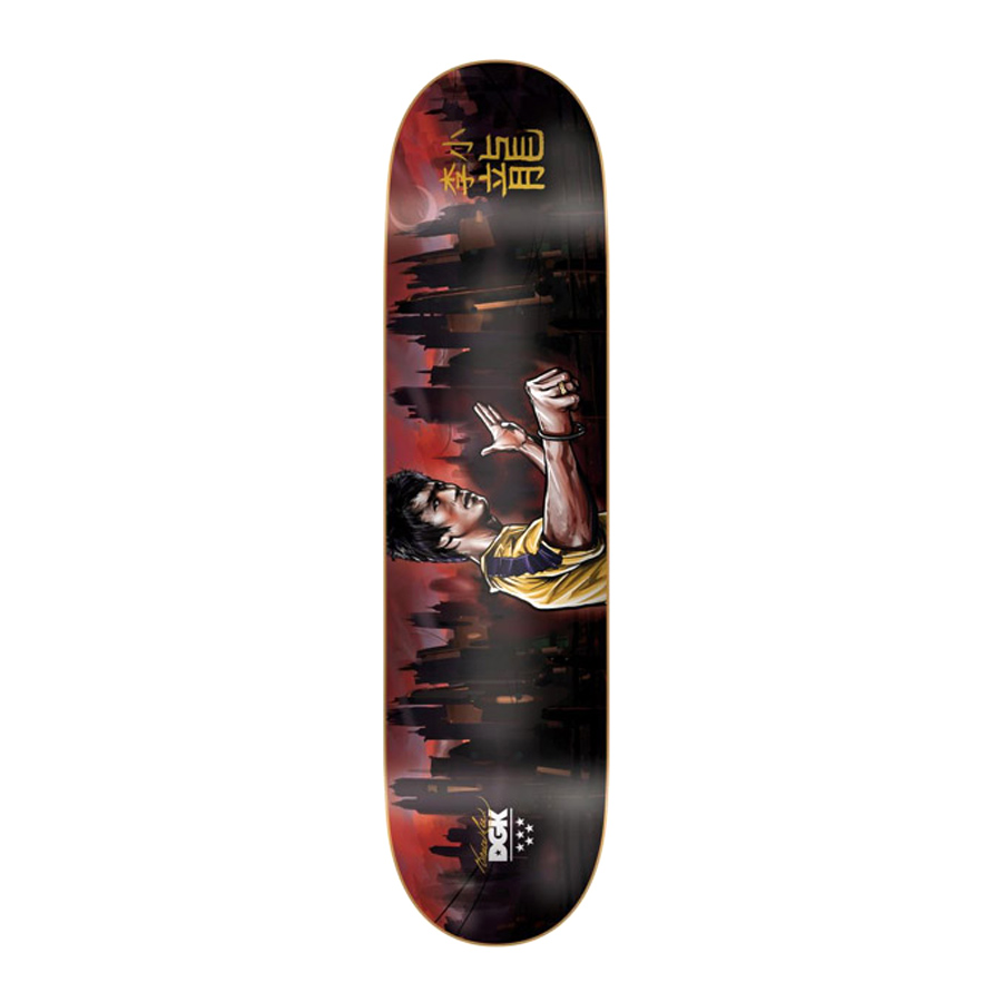 Buy DGK X Bruce Lee Warrior Deck Canada Online Sales Vancouver Pickup