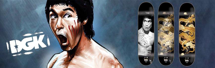 Buy DGK X Bruce Lee Skateboards Canada Online Sales Vancouver Pickup