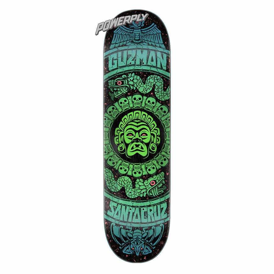 Buy Santa Cruz Guzman Rad Temple Powerply Deck Canada Online Sales Vancouver Pickup