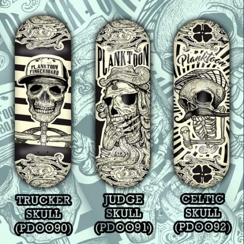 Buy Planktoon Skull Line Series Fingerboards Canada Online Sales Vancouver Pickup
