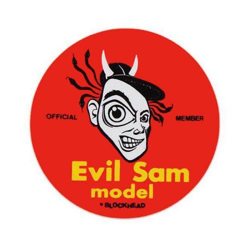 Evil Sam Sticker Canada Online Sales Pickup Vancouver