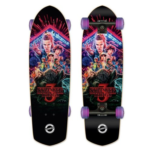 Buy Madrid X Stranger Things 3 - Title Poster Cruiser Complete Canada Online Sales Vancouver Pickup