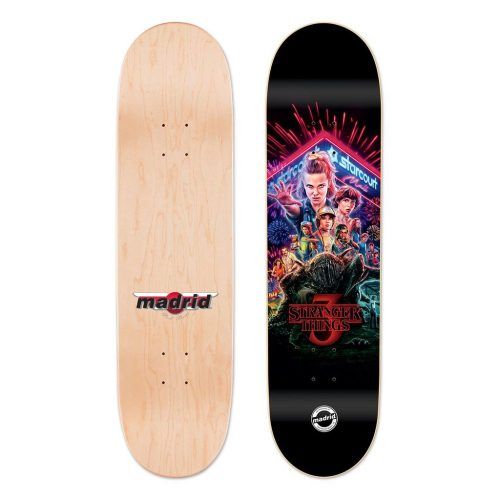 Buy Madrid X Stranger Things 3 - Title Poster Deck Canada Online Sales Vancouver Pickup