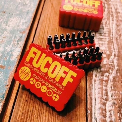 Buy Scumco&Sons Fucoff Skatestop Removal Set Canada Online Sales Pickup Vancouver