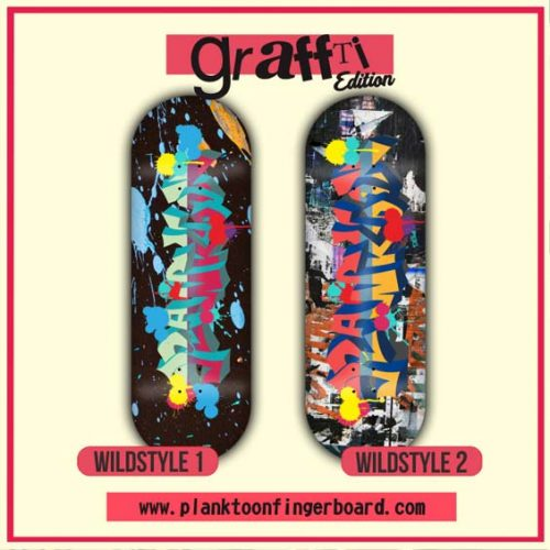 Buy Planktoon Graffiti Edition Series Fingerboards Canada Online Sales Vancouver Pickup