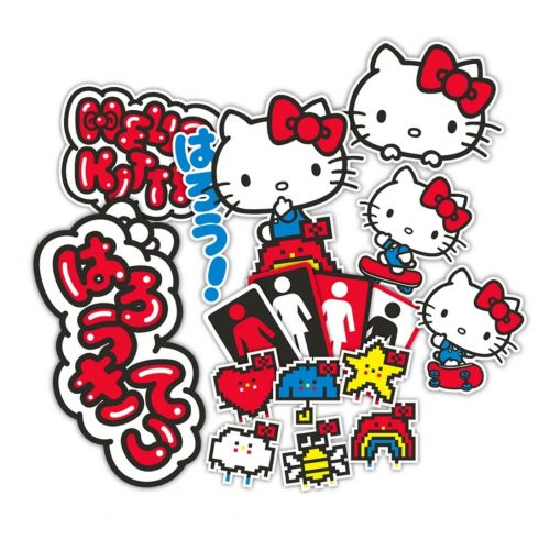 Girl Hello Kitty Deck Skateboard Canada Online Sales Vancouver Pickup