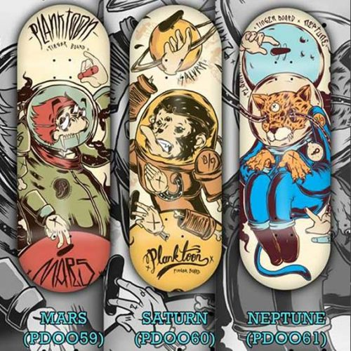Buy Planktoon Planet Edition Series Fingerboards Canada Online Sales Vancouver Pickup