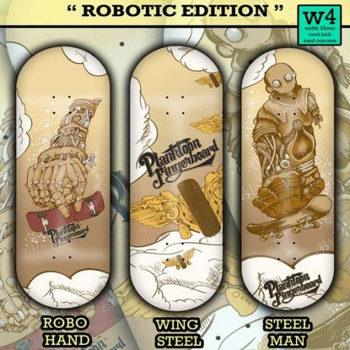 Buy Planktoon Robotic Edition Series Fingerboards Canada Online Sales Vancouver Pickup