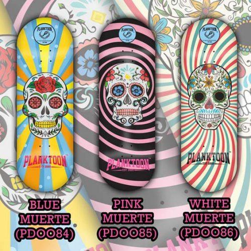 Buy Planktoon Muerte Skull Series Fingerboards Canada Online Sales Vancouver Pickup