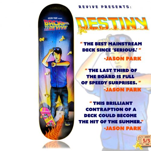 "REVIVE Presents DESTINY! Jason Park 8.5"" x 31.5"""