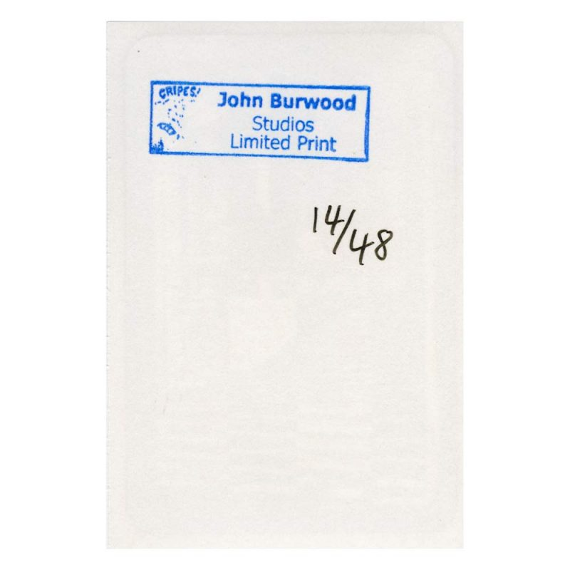 John Burwood Stickers Canada Online Sales Pickup Vancouver