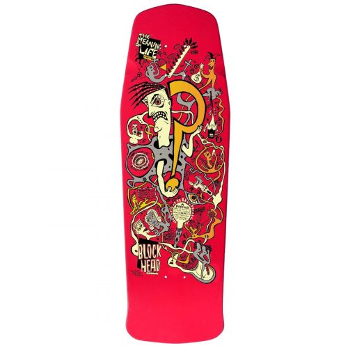 Blockhead Skateboards Meaning Of Life Deck David Bergthold Skateboard Canada Online Sales Pickup Vancouver