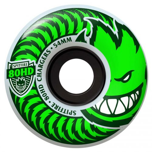 Spitfire Chargers Classic Clear Green 56mm 80A Wheels Canada Online Sales Pickup Vancouver