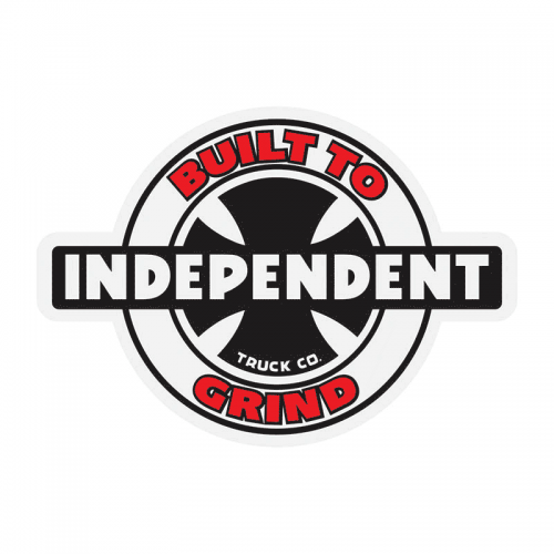 Independent Built to Grind Sticker Canada Online Sales Pickup Vancouver