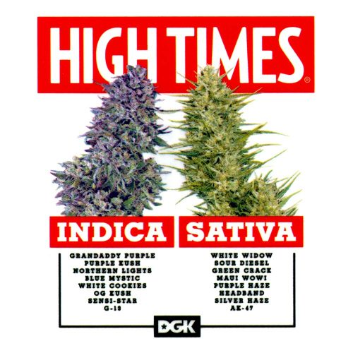 DGK High Times Sticker Canada Oneline Sales Pickup Vancouver