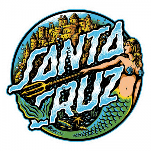 Santa Cruz Mermaid Sticker Canada Online Sales Pickup Vancouver