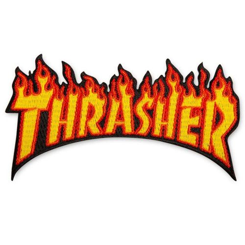 Thrasher Flame Patch Canada Online Sales Vancouver Pickup