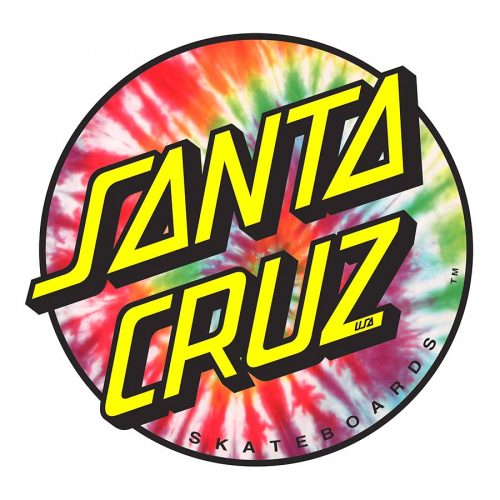 Santa Cruz Tie Dye Dot Sticker Canada Online Sales Pickup Vancouver
