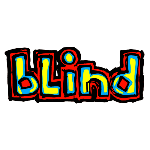 Blind Skateboards Logo Sticker Canada Online Pickup Sales Vancouver
