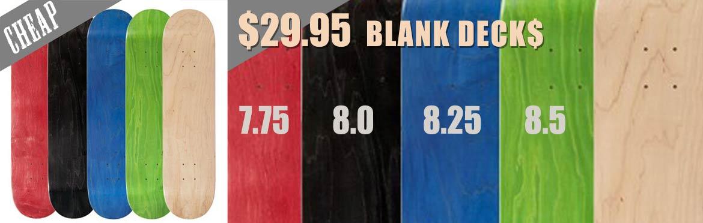 Deal Blank Skateboards Canada Online Sales Pickup Vancouver