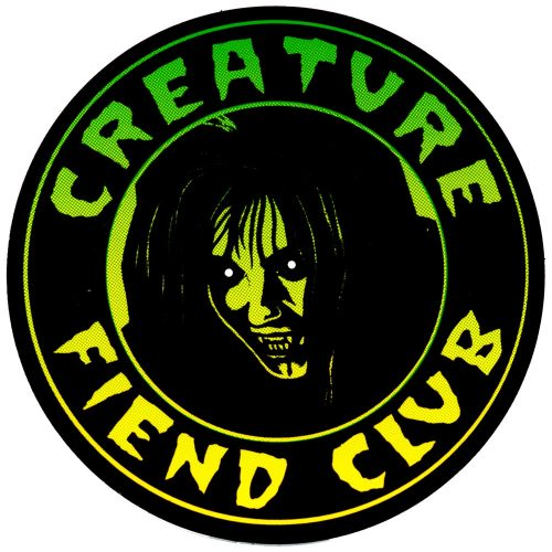 Creature Fiend Club Sticker Canada Online Pickup Sales Vancouver