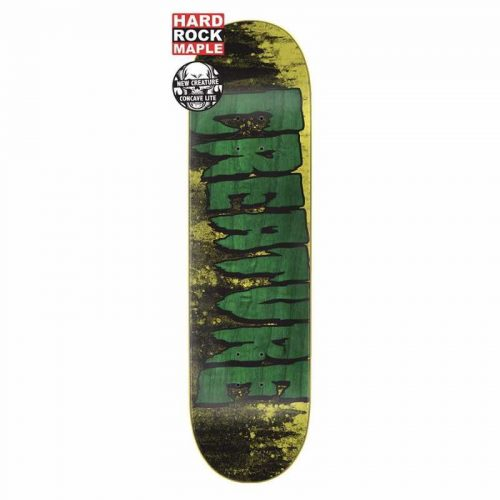 Creature Logo Wash MD Hard Rock Maple Deck Canada Online Sales Vancouver Pickup