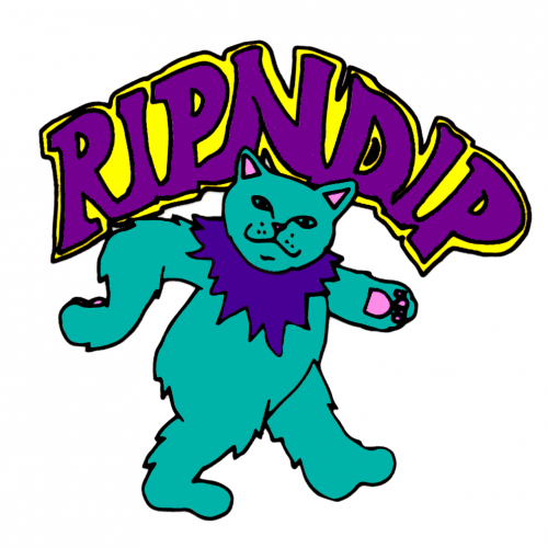 RipNDip Green Kitty Zombie Canada Online Sales Pickup Vancouver