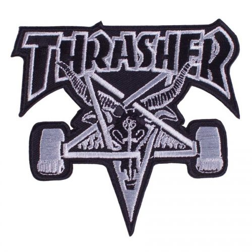 Thrasher Skate Goat Patch Canada Online Sales Vancouver Pickup