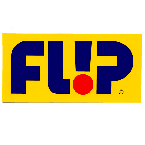Flip Skateboards Logo Sticker Canada Online Sales Vancouver Pickup