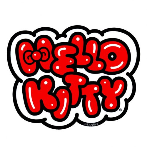 Hello Kitty Logo Sticker Online Sales Canada Pickup Vancouver