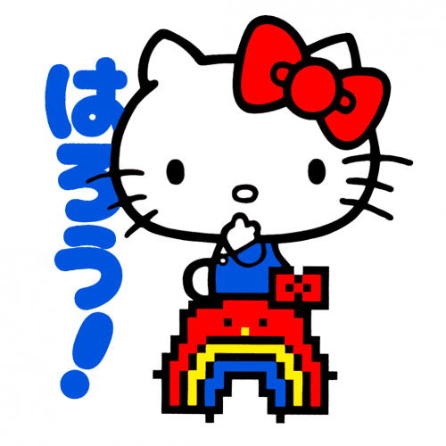 Hello Kitty Rainbow Sticker Canada Online Sales pickup Vancouver