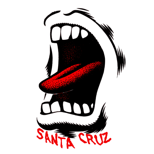 Santa Cruz Screaming Hand Sticker Canada Online Sales Pickup Vancouver