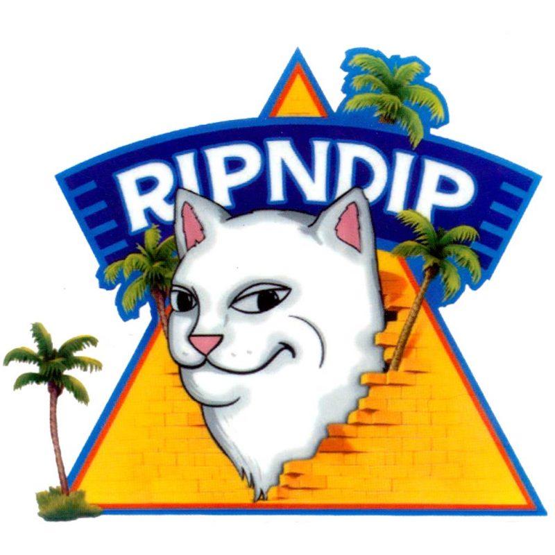RipnDip Cat Pyramid Sticker Canada Online Sales Pickup Vancouver