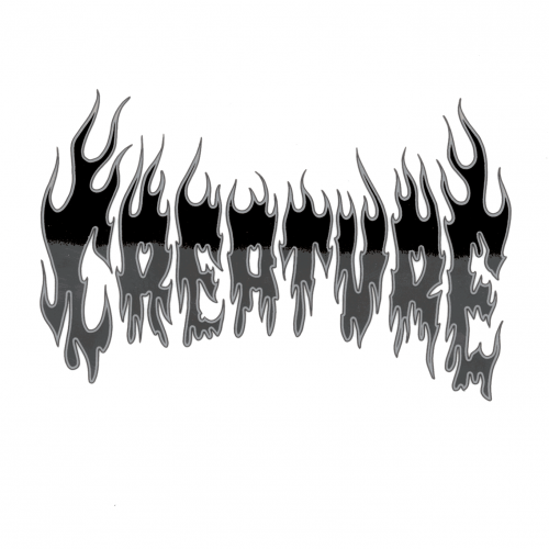 Creature Firestarter Clear Mylar Decal Sticker Canada Online Vancouver Pickup
