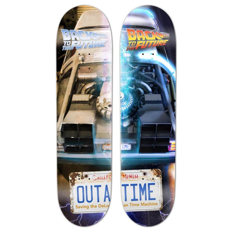 Madrid Back To The Future OUTATIME Deck Canada Online Sales Pickup Vancouver