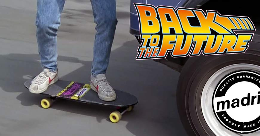 Madrid Skateboards Back to the Future Canada Online Sales Pickup Vancouver