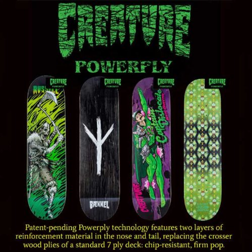 Creature Powerply Skateboards Canada Online Sales Vancouver Pickup