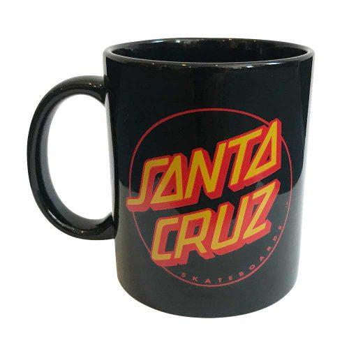 Santa Cruz Classic Dot Mug Black Canada Online Sales Vancouver Pickup