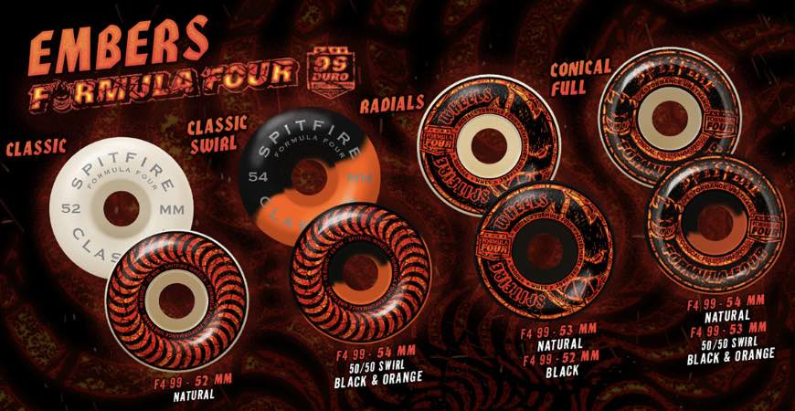 Spitfire Wheels Embers Canada Online Sales Vancouver Pickup