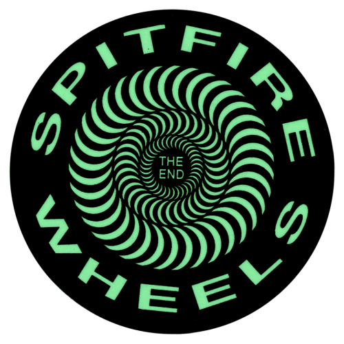 Spitfire Wheels Round Logo Glow Canada Online Sales Pickup Vancouver
