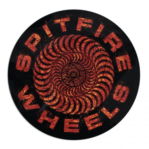 Spitfire Capsule Classic Swirl Embers Sticker Canada Online Sales Vancouver Pickup