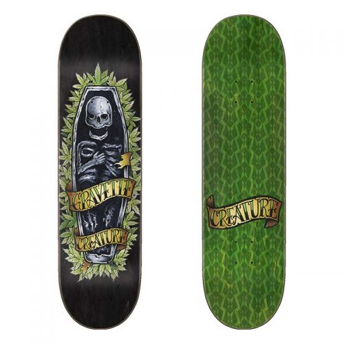 CREATURE DECK GRAVETTE SKULLY 8.3x32.2 Canada Online Sales Vancouver Pickup