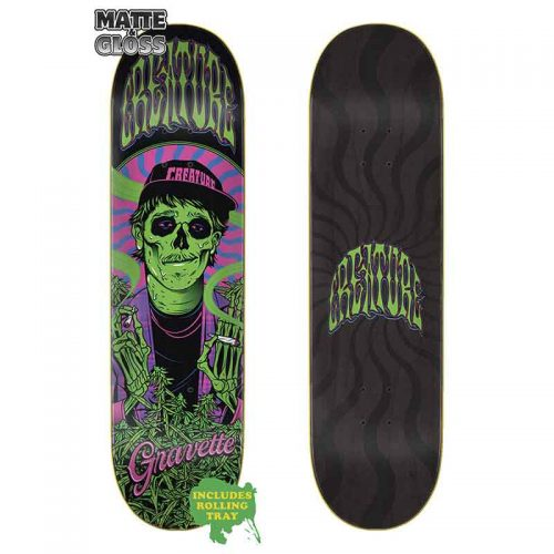 CREATURE DECK SMOKERS CLUB GRAVETTE 8.3x32.2 Canada Online Sales Vancouver Pickup