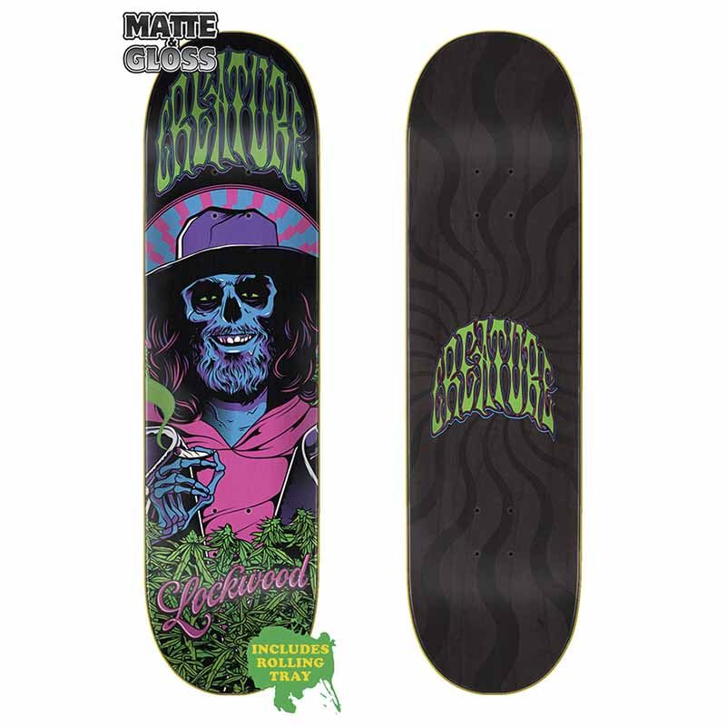 CREATURE DECK SMOKERS CLUB LOCKWOOD 8.25x32.04 Canada Online Sales Vancouver Pickup