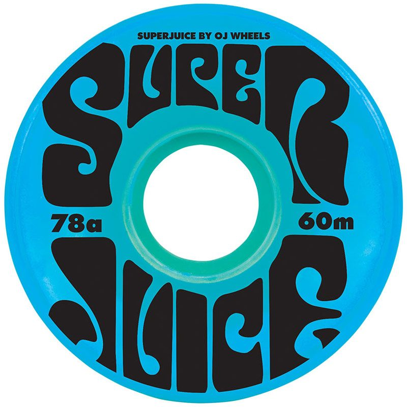 Oj Super Juice Blue Skateboard Wheels Canada Online Sales Pickup Vancouver